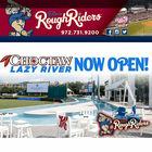 Enter to win a 4-pack of tickets to the Lazy River Frisco RoughRiders!
