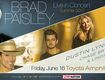 Win Tickets To See Brad Paisley - June 16th at Toyota Amphitheater!