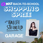 Back To School Shopping Spree with Hailee Steinfeld at Garage!