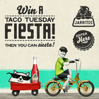 Win a Taco Tuesday Fiesta for you and your friends!