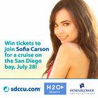 Meet Sofia Carson aboard a Hornblower Cruise!