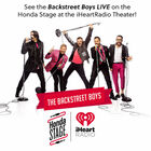 See the Backstreet Boys LIVE On The Honda Stage at the iHeartRadio Theater!