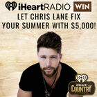 Let Chris Lane FIX your Summer with $5,000!