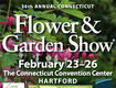 Win a 4 pack of tickets to the Flower & Garden Show Feb. 23-26