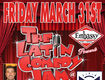 """Win a pair of tickets to """"The Latin Comedy Jam"""""""