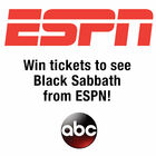 Win tickets to see Black Sabbath from ESPN!