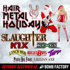 Win tickets to Hair Metal Holiday at the Bomb Factory!