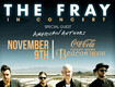 Win Tickets To See The Fray!