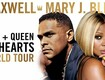 Maxwell and Mary J. Blige King and Queen Of Hearts Tour!