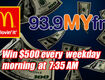 The $500 Shout Out at 7:35am