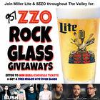 Win Bush / Chevelle Tickets! ZZO / Miller Lite - Rock Glass Giveaway!