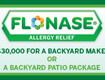 Flonase Allergy Backyard Makeover