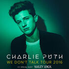 Charlie Puth: We Don't Talk Tour