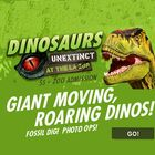 Dinosaurs Unextinct at L.A. Zoo (4-pack)