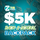Z100 has your Sprayground Backpack filled with $5,000!