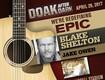 Win Tickets to Blake Shelton & Jake Owen, April 29 at Doak Campbell Stadium