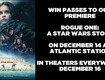 Win passes to our Rogue One premiere