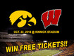 See The Hawkeyes vs. Wisconsin