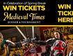 Win A 5-Pack of Tickets to Medieval Times Dinner & Tournament!