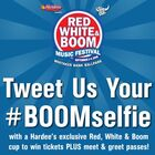 Tweet Us Your #BOOMselfie Sponsored by Hardee's!