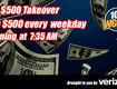 The $500 Takeover sponsored by Verizon