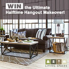 WIN the Ultimate Halftime Hangout Makeover!