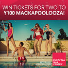 Win Tickets to Mackapoolooza courtesy of European Wax Center