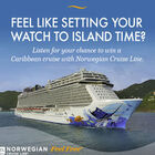 Register to win a 7-day cruise vacation to the Caribbean from Miami aboard Norwegian Cruise Line's newest ships Norwegian Escape