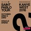 Kanye West in Concert on October 22nd and 23rd, 2016