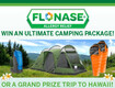 Win an ultimate camping trip from Flonase!