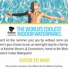World's Coolest Waterpark Sweepstakes