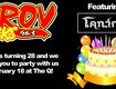 Win Tickets To ROV's 28th Birthday Party!