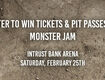 Win Monster Jam Tickets & Pit Passes!