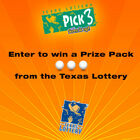 Enter to win a Prize Pack from the Texas Lottery!