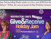 Urban Partnership Bank wants to Give you $500 for the Holidays!