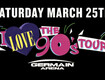 I Love the 90's Tour | Germain Arena | March 25th