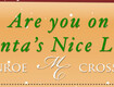 Win $500 to Monroe Crossing Mall & Get On the Nice List