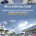 Win a $200 Gas Card