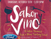 Win Passes to Sabor y Vino - A Latin Themed Food & Wine Tasting Event