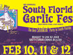 Win Tickets to the 18th Annual South Florida Garlic Fest