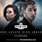 *LAST CHANCE* Tickets To See Demi Lovato & Nick Jonas!