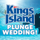 Kings Island Plunge Wedding