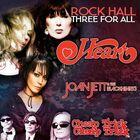 Heart, Joan Jett & the Blackhearts and Cheap Trick