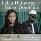 Win Tickets to see Lalah Hathaway & Musiq Soulchild at The Tower Theater!