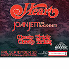 Heart, Joan Jett & the Blackhearts, Cheap Trick