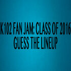 Guess The Lineup-Fan Jam Class of 2016