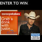 Have a drink with Justin Moore