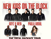 New Kids On The Block/Paula Abdul/Boyz II Men