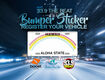 93.9 The Beat Winner Sticker