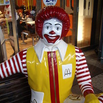 Ronald McDonald gets a makeover!